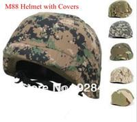 A + calidad ee.uu. PASGT Kevlar Swat ejército M88 táctico casco de seguridad con cubre venta al por mayor envío gratuito Dropshipping