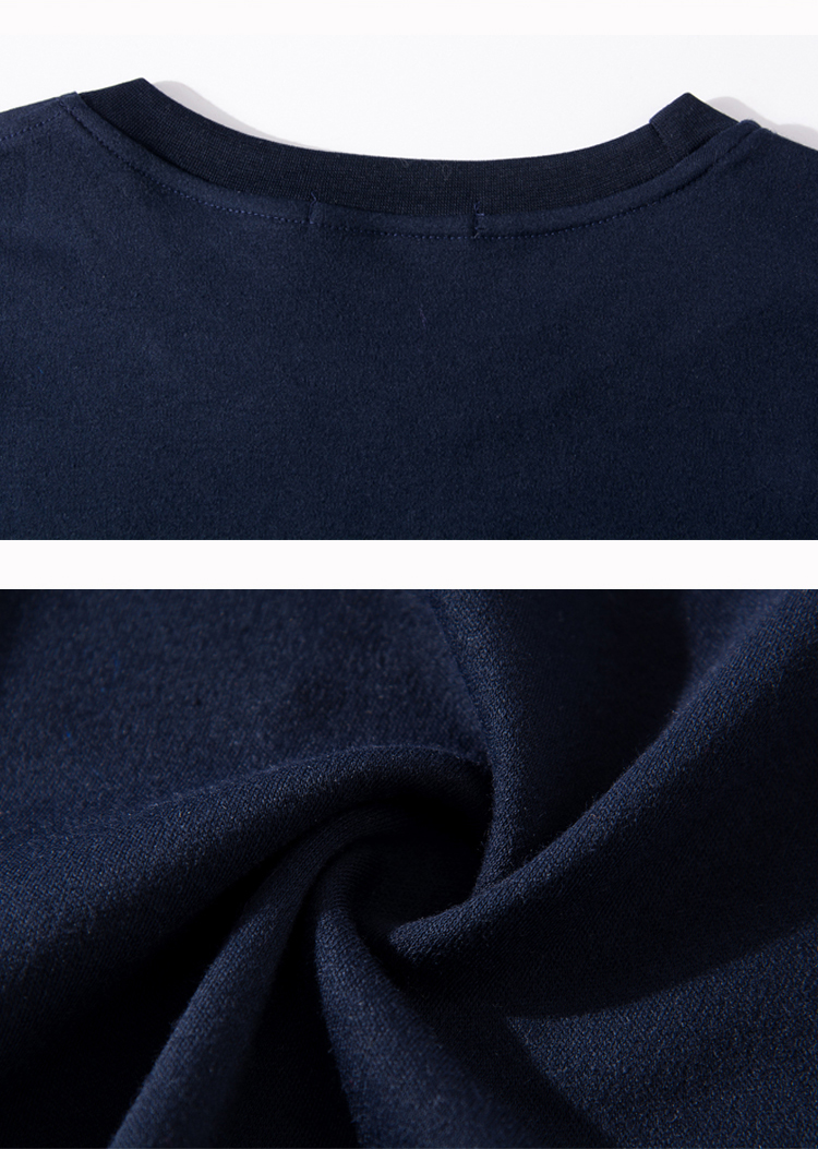 Mature Man Casual Tshirt Red Gray Navy Blue Plain Colour Cotton Top Male Spring Autumn Comfort Daliy Tees Mens Leisure Tshirts Father Clothings (5)