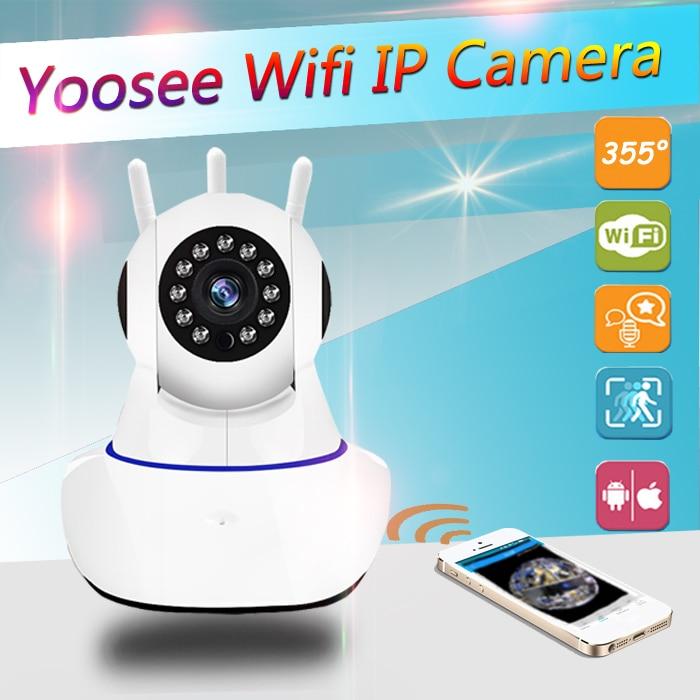 CCTV WiFi Camera IP 1080P Home Security Camera Wi-Fi P2P Two Way Audio Night Vision 3 Antennas Wireless Baby Monitor