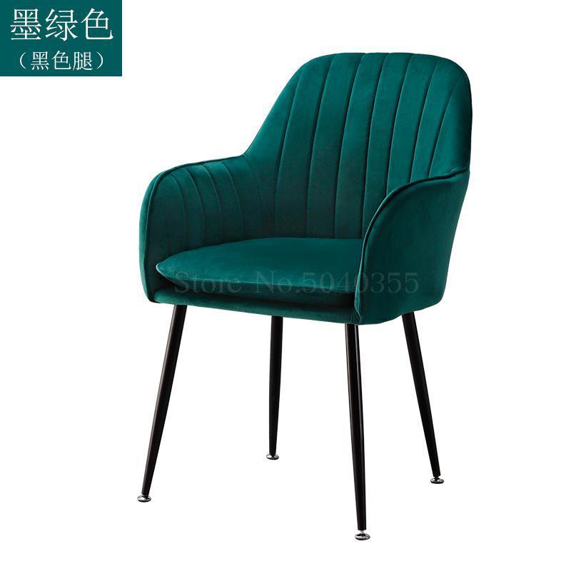 Современный дизайн, мягкий обеденный стул, модный прозрачный стул для гостиной, отдыха, мебель, стул-Лофт - Цвет: VIP 10