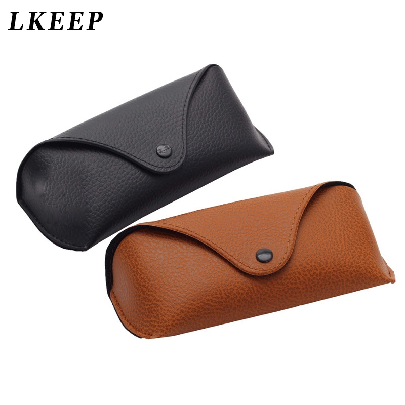 Imitation Leather Glasses Case Makeup Bags Cosmetics Pouchs For Travel Ladies Pouch Women Cosmetic Bag