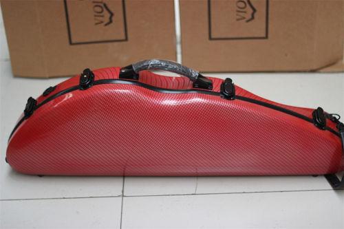 New fashion red violin 4/4 fiddle Bam full size composite carbon fiber case bag with bow holders & straps настольная лампа mantra декоративная akira 0789
