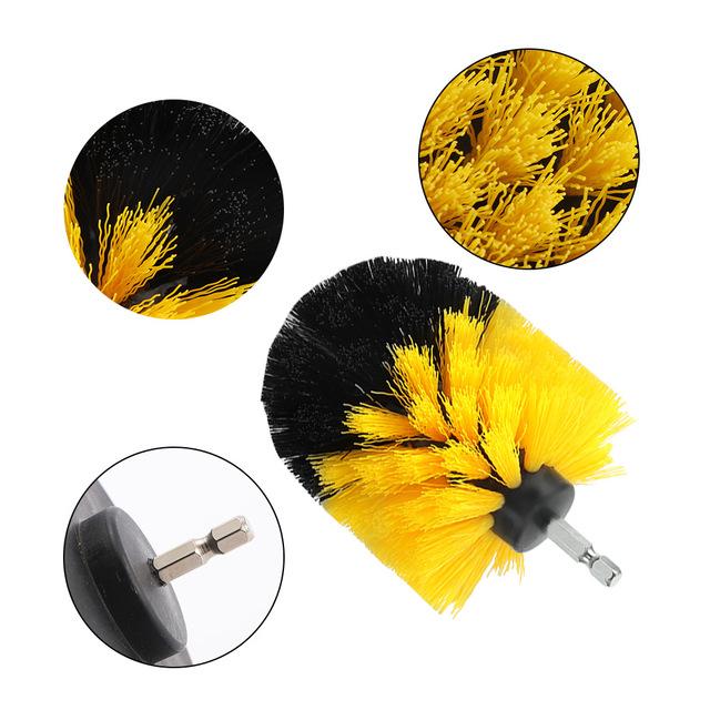 3Pcs/Set Electric Drill Brush Kit