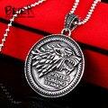 Beier 316L Stainless Steel Game of Thrones Stark Targaryen Lannister pendant necklace vintage   fashion men jewelry  BR8-150