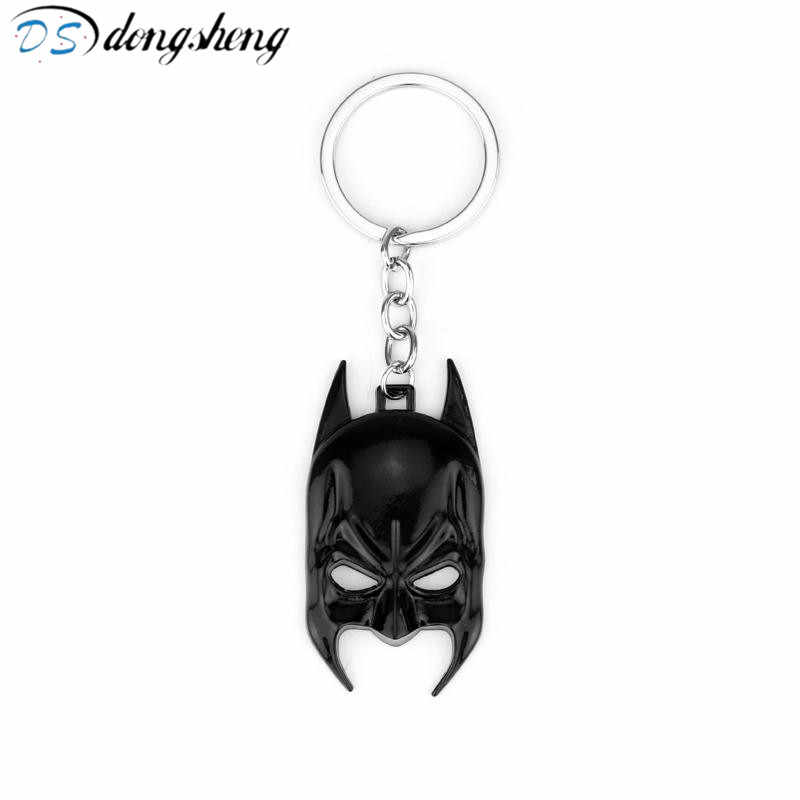 Dongsheng Thời Trang Batman Mask Keychain The Avengers Super Hero Móc Chìa Khóa Movie Character Vòng Chìa Khóa Giữ các Phụ Kiện-A20