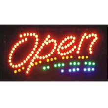 CHENXI Shop open led signs direct selling 10X19 inch indoor Animated Running led sign