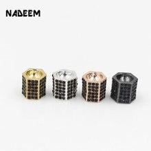 Модные геометрические украшения nadeem из фианита с кристаллами