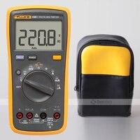 Fluke 15b + multímetro digital de gama automática + estojo macio portador saco coldre
