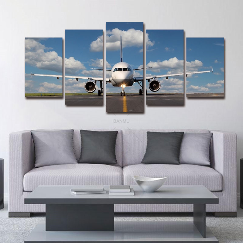 ∞Paintings on Canvas Wall Art for Decorations Modern 5 Panel ...