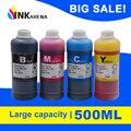 Набор заправки чернил для бутылок объемом 500 мл  набор чернил для красителей Canon Pixma  картриджи для чернил и чернил  для принтеров Canon Pixma  1  5  1  ...