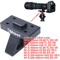 Colarinho lente Apoio para Os Pés Base do Suporte de Tripé Anel para Nikon AF-S 300mm f/2.8G ED VR & II, AF-S 200-400mm f/4G ED VR & II