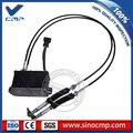 E312B 312B throttle motor 120-0002 met dubbele kabel, 6 pins voor graafmachine ALS-Gouverneur, 6 maand garantie