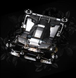 Image 3 - 1 Set Black Transparent BROCKEN GIGANT Car Model with Upgrade Spare Parts Kit for Tamiya Mini 4WD Car Model