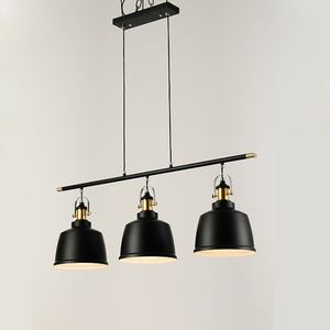 Image 3 - רטרו לופט תעשייתי ברזל תליון תאורת חדר אוכל בציר LED תליון מנורה מודרני תליון אורות/השעיה מקורה