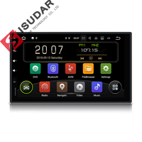 Isudar 2 Din Auto Radio Android 9 For Nissan/Xtrail/Tiida/Hyundai/KIA Universal Car Multimedia Video Player GPS USB DVR RAM 2GB