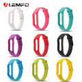 Sale ! Colorful Silicone Wrist Strap Bracelet Replacement watchband for Miband 2 Xiaomi Mi band 2 strap Wristbands