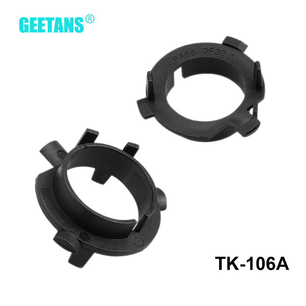 GEETANS <font><b>H7</b></font> <font><b>LED</b></font> Headlight Accessories <font><b>Adapter</b></font> Holder Car Styling <font><b>LED</b></font> Base FOR K3/K4/K5 High Lander(low beam) <font><b>Outlander</b></font> G image