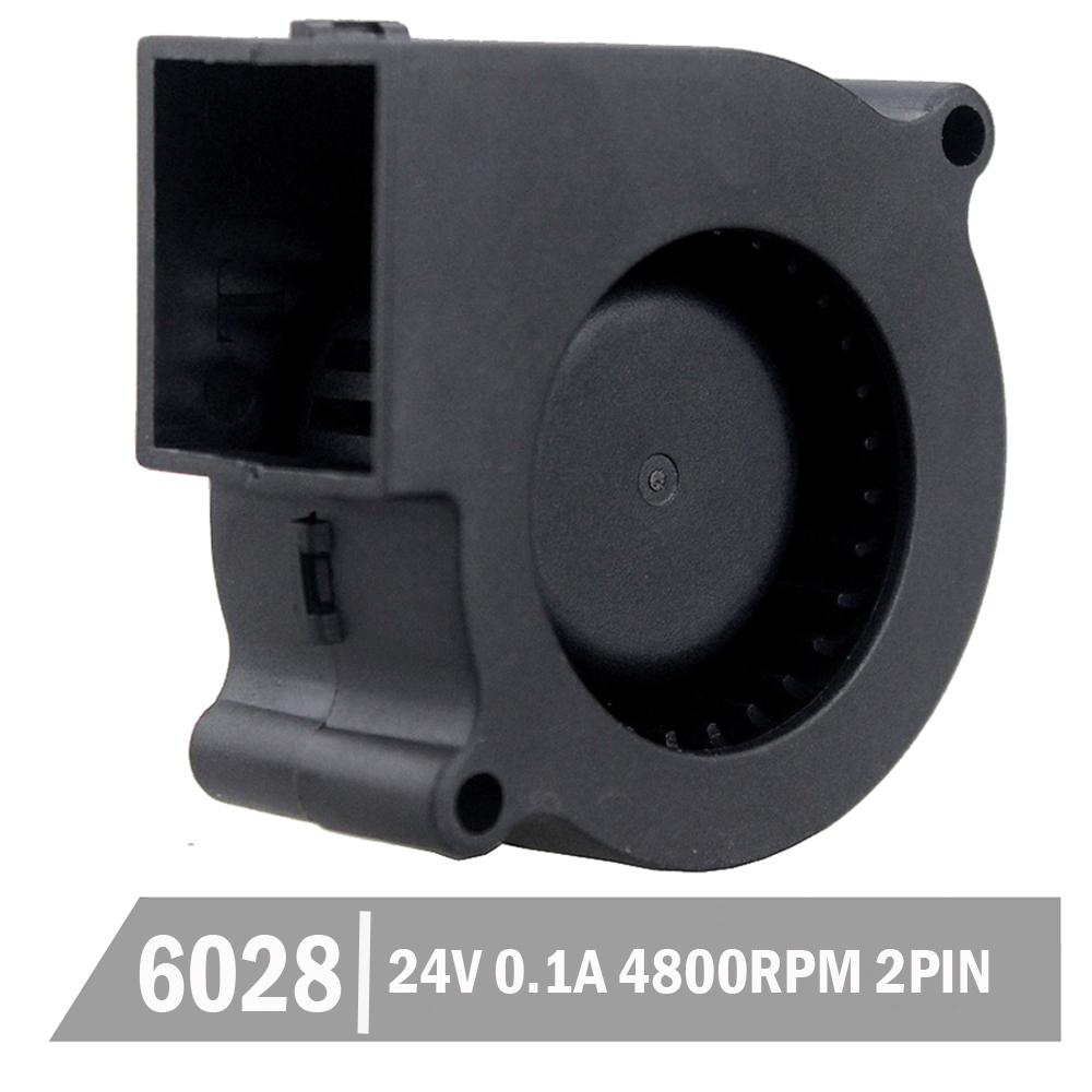 5pcs Gdstime 6cm <font><b>60</b></font> x 28 <font><b>mm</b></font> 60mm DC 2Pin Small Centrifugal Mini Blower <font><b>Fan</b></font> Cooling 24V image