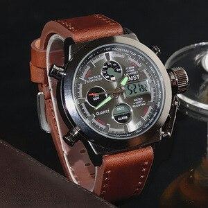 Image 3 - Orologi da polso militari sportivi di moda maschile 2020 nuovi orologi AMST orologi da uomo di lusso di marca 5ATM 50m orologi al quarzo analogici digitali a LED da immersione