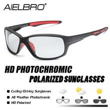 Sport Photochromic Polarized Glasses Fishing Eyewear Bicycle Glass MTB Bike Riding Hiking Sunglasses 2019