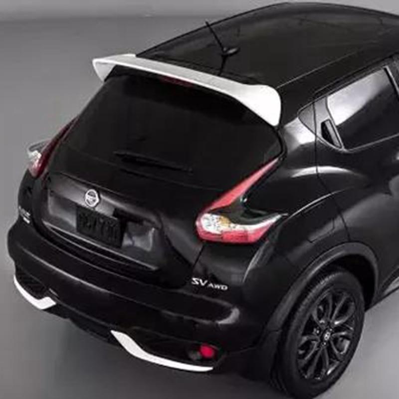 MONTFORD For Nissan Juke 2010 2011 2012 2013 2014 2015 Auto Part ABS Plastic Unpainted Primer Rear Trunk Boot Wing Lip Spoiler