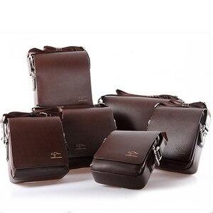 Image 2 - Maletín canguro de marca de diseñador para hombre, bolso de viaje de cuero suave, para negocios, oficina, ordenador, portátil, funda, bolsas de mensajero