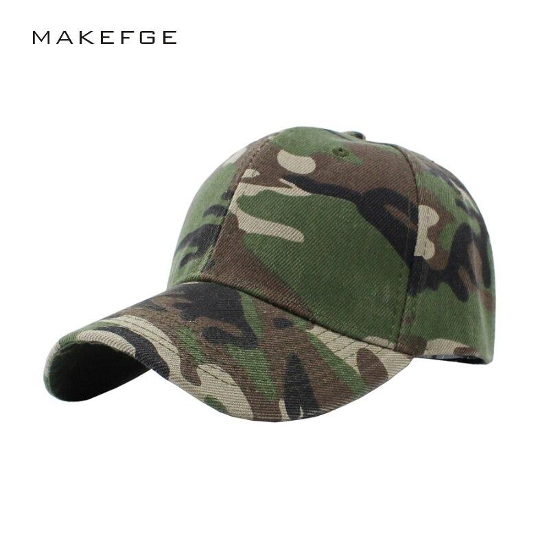 ᐂHombres sombrero de béisbol del camuflaje caza pesca sombrero ...