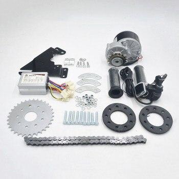 Kit de motor de conversión de bicicleta eléctrica, de 24V, 36V, 250W, con desviador, para bicicleta eléctrica