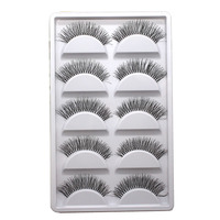 30Pairs Natural Long False Eyelashes Posterior Hand Made Fake Eyelash Cilia Eye Lash Extensions Lengthening Charming