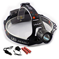Powerful Cree XML L2 Led Headlamp Frontale Zoom XM-L2 with Usb Port HeadLight head Lamp Flashlight Lampe + 18650 Battery Charger
