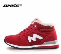 ONKE New listing hot sales winter Plus Velvet women and men running boots sneakers lovers boots size 36 45 921 922