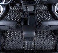 5 Colors Car Floor Mats Front & Rear Liner Waterproof Mat For Honda Civic 2011 2010 2009 2008 2007 2006 Car Accessorie Carpet