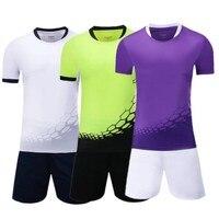 Hombres Mujeres fútbol Jerséis kit deportivo niños Niños Sets de fútbol uniformes Jersey Camisas Pantalones cortos entrenamiento Pantalones Trajes $1.8 impresión dibujar