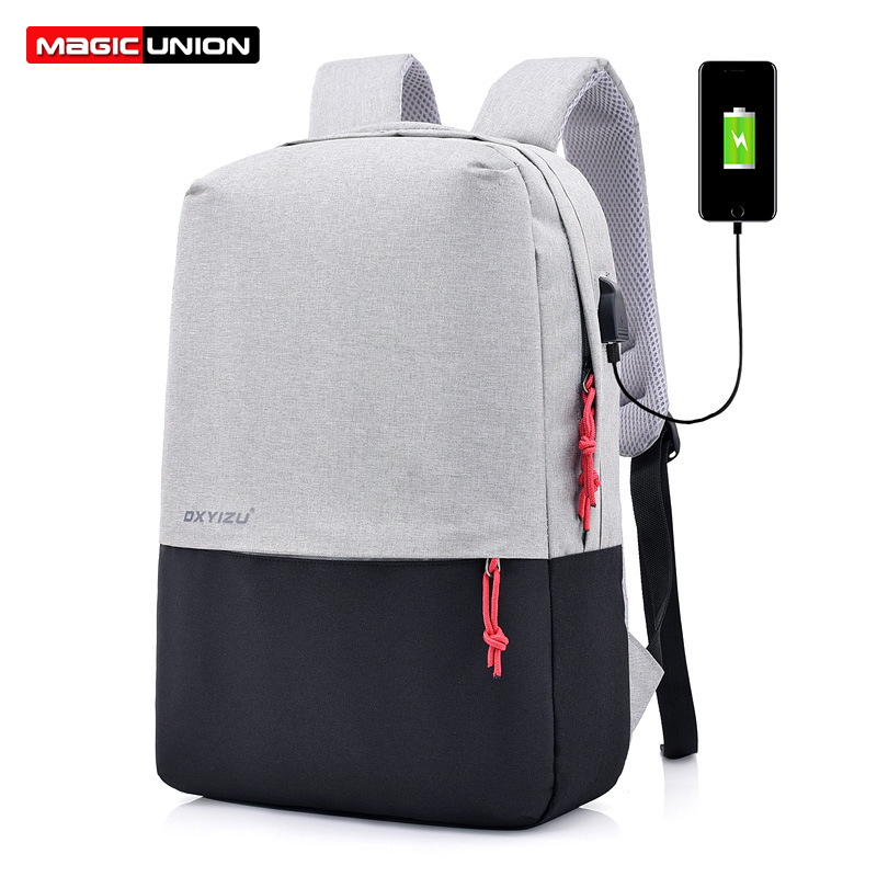 MAGIC UNION Fashio Leather Backpack Men's Casual Travel Bags Oil Wax Leather Laptop Bags College Style Backpacks Mochila Zip Men magic union men s patent leather backpacks high quality bags fashion bag for men business travel mochila zip men laptop backpack