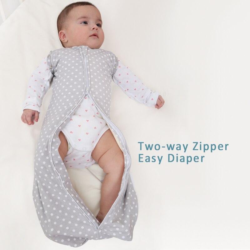 diapers Swaddleme autumn organic cotton infant parisarc newborn thick baby envelope swaddling swaddle me Sleep bag