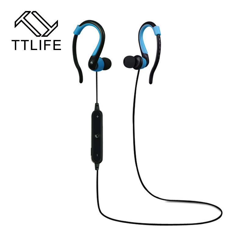TTLIFE Fashion sport Bluetooth Earphone Wireless Stereo music headphone super Bass Bluetooth headset with mic for Samsung Xiaomi hot sale ttlife smart bluetooth 4 1 earphone upgraded wireless sports headphone portable handfree headset with mic for phones