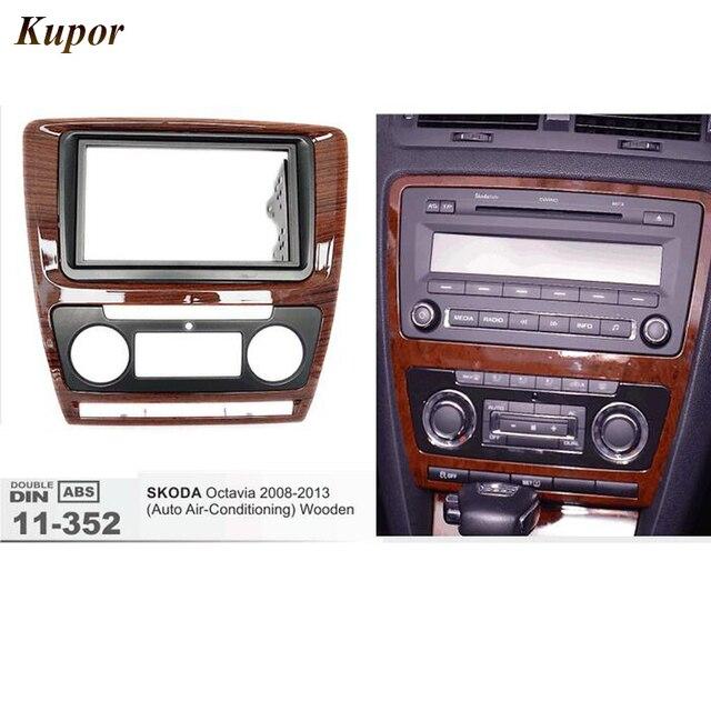 11 352 Car Radio Fascia for SKODA Octavia(Auto Air Conditioning ...