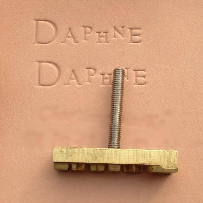Diy Leather Embossing Stamp: Aliexpress.com : Buy Custom Design Leather Hot Foil