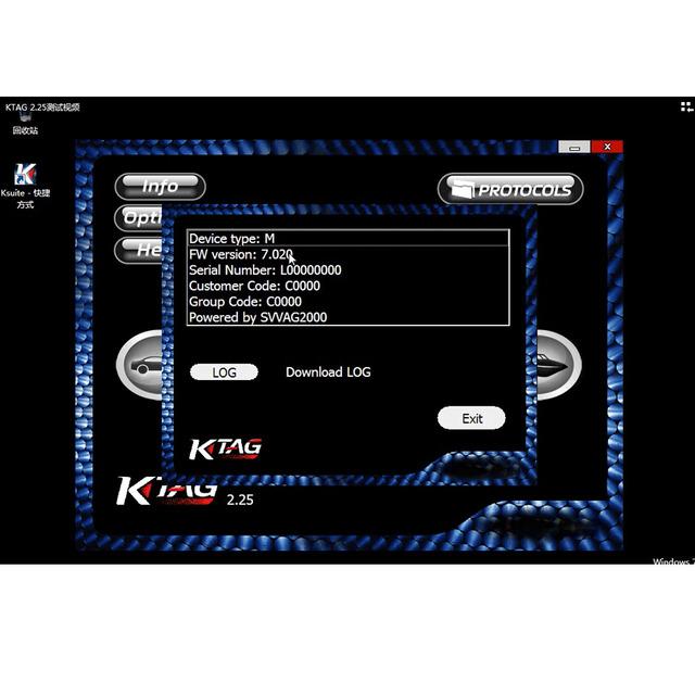 Newest KTAG V2.25 KESS V2.47 Software K-TAG K TAG 7.020 2.25 KESS V2 5.017 2.47 Master Online Version Software Download Link
