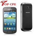 Оригинал Samsung S7562 Galaxy S Duos Сотовых Телефонов 5 МП камера wi-fi GPS android 4.0 Две сим-карты Бесплатная доставка