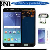 Per Samsung GALAXY J5 J500 J500F J500FN J500M J500H 2015 Display LCD Con Touch Screen Digitizer Assembly di Regolare La Luminosità