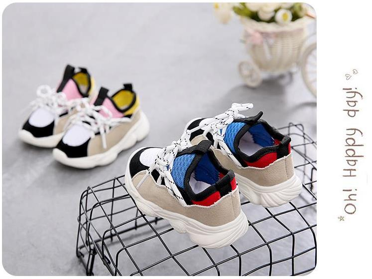 a658507b4 HaoChengJiaDe Kids Shoes For Boys Girl Children Casual Sneakers Baby Girl  Air Mesh Breathable Soft Running Sports Shoe Pink Blue