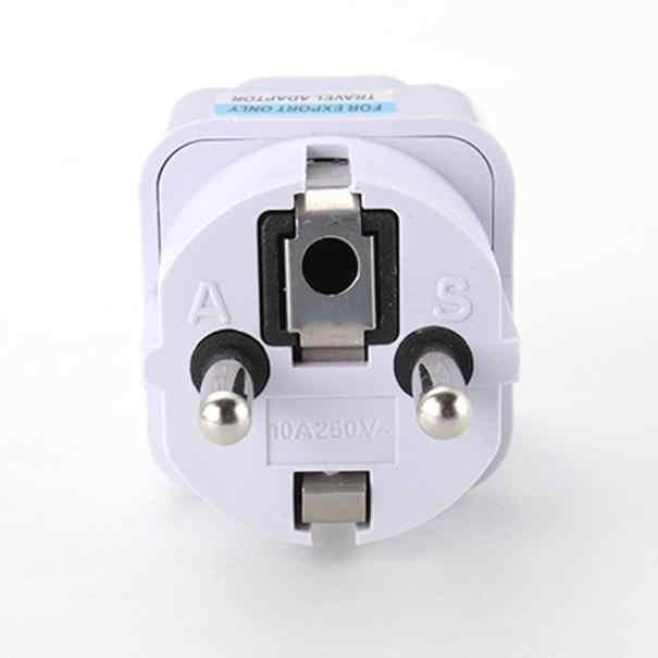 VOBERRY New Điện Ổ Cắm Ổ Cắm Phổ ANH MỸ AU để EU AC Ổ Cắm Điện Cắm Sạc Du Lịch Adapter Chuyển Đổi 220 V 10A Ổ Cắm