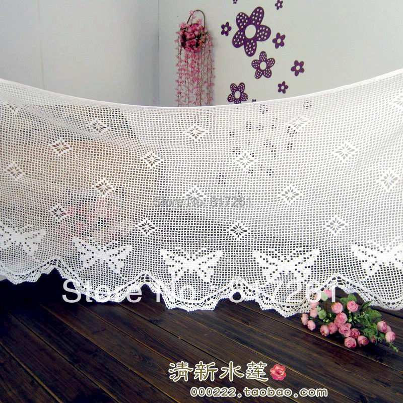 Ideas De Cortinas A Crochet. Trendy More With Ideas De Cortinas A ...