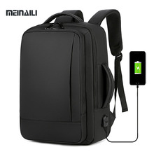Business USB Charging Backpack Laptop Backpacks15.6 Inch Waterproof College Bag For Men Notebook Multifunction Travel Bagpack