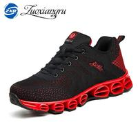 New Running Shoes For Men Women Outdoor Breathable Mesh Fly Weave Light Jogging Sneakers Athletics Lovers