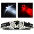 6 LED Lights 1200 Lumens 3 Modes Outdoor Headlight Headlamp for Fishing Camping Hiking Cycling Hunting