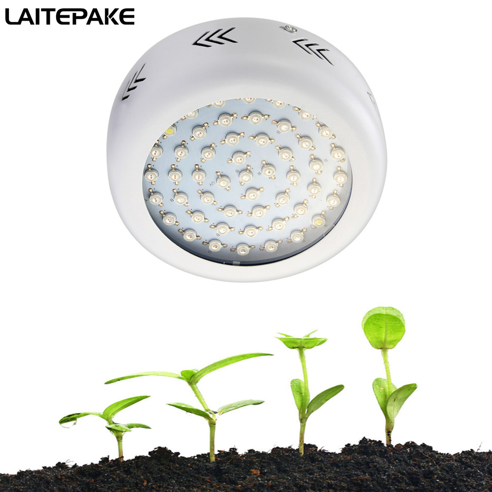 LED grow light UFO Dual chip 300W/600W Full Spectrum for Indoor Greenhouse Hydroponics grow tent plants grow led light