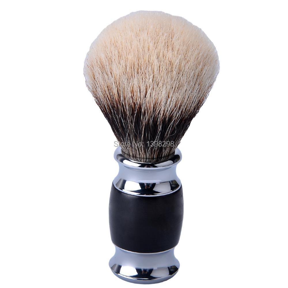 CSB HMW Finest Badger Hair Shaving Brush with Black Ebony Wood Handle Beard Brush расчески dessata расческа dessata hair brush mini black black черный черный