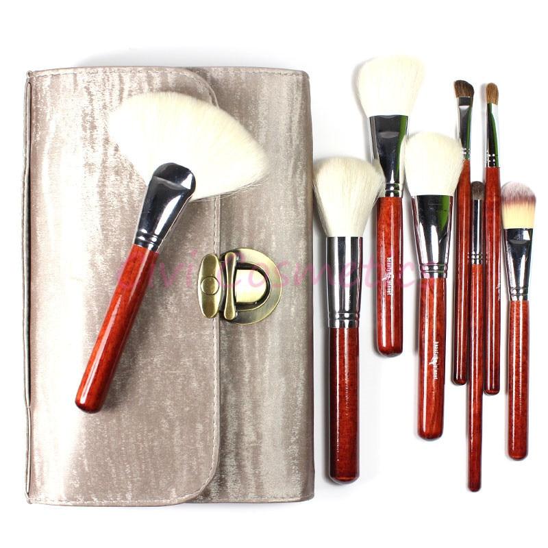 ФОТО Professional Makeup Brushes Tool Kit 26 Pieces Goat  Hair Top Grade Cosmetics Set